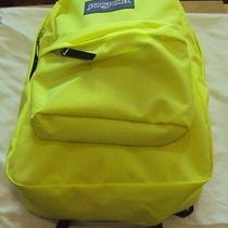 Jansport Super Break T5012d5 Lorac Yellow Polyester School Book Bag Backpack Photo