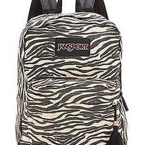 Jansport Super Fx Backpack - Gold Metallic Zebra Gold Metallic Zebra Photo