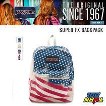 Jansport Super Fx Shcool Backpack American Flag Photo