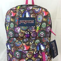 Jansport Superbeak Authentic Multi Painted Stone T5010af 1550cu Daypack/backpack Photo
