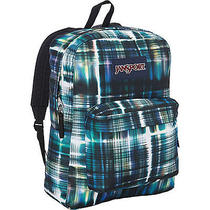 Jansport Superbreak Backpack-Black Multi Short Circuitj Photo