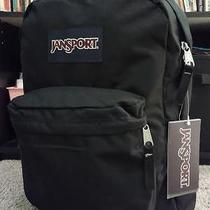 Jansport Superbreak Backpack Black School College New Nwt 100% Authentic Photo