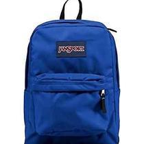 Jansport Superbreak Backpack (Blue Streak) Free  Fast Shipping College School Photo