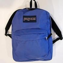 Jansport Superbreak Backpack Book Bag in Purple Photo