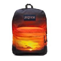 Jansport Superbreak Backpack Daypack School Bookbag Cool Bag Sunset T501 8-4 Nwt Photo