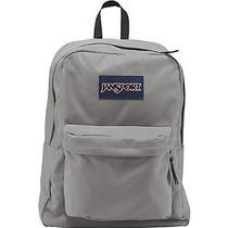Jansport Superbreak Backpack - Grey Rabbit Photo