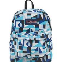 Jansport Superbreak Backpack Mammoth Blue Shifter School College Book Bag Pack Photo