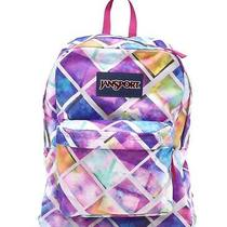 Jansport Superbreak Backpack Multi Glow Box New Photo