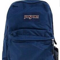 Jansport Superbreak Backpack Navy Blue Js00t501003 Photo