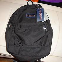 Jansport Superbreak Backpack Solid Black  Photo