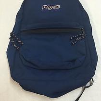 Jansport Superbreak Backpack Solid Blue Photo