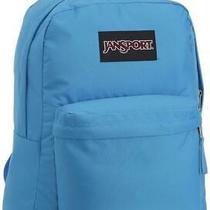 Jansport Superbreak Backpack Swedish Blue Black Label Twk89fg Fast Ship T10 Photo