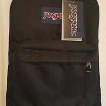 Jansport Superbreak Black Backpack  Photo