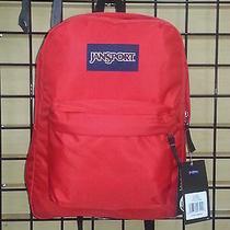 Jansport Superbreak Classic Red (High Risk Red) Photo