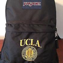 Jansport Superbreak College Backpack Ucla University of California La Logo Black Photo