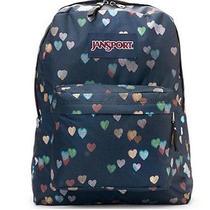 Jansport Superbreak Multicrush Hearts Backpack Photo