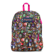 Jansport Superbreak School Backpack Multi Painted Stones - Brand New Photo