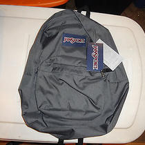 Jansport Superbreak Solid Gray in Color  Photo