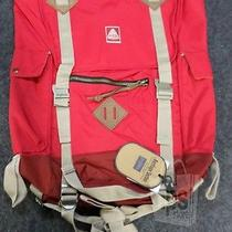 Jansport T34y5xp Adobe Backpack Red Tape 1590 cu.in. 400d Nylon New Photo