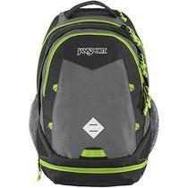 Jansport T54nzr2 Jansport Boost Backpack - Shady Grey/zap Green / 23.1