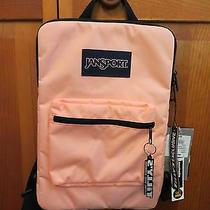 Jansport Tablet/laptop Backpack - Peach Photo