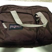 Jansport Tcx8 Bag Brown Laptop Lifetime Warranty Photo