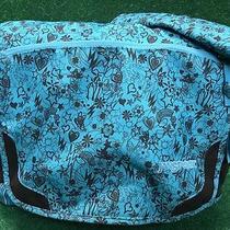 Jansport Teal Brown Large  Messenger Bag /  Laptop Bag Euc Photo