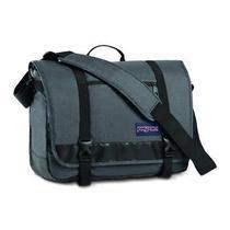 Jansport Throttle Messenger Bag  Forge Grey Photo