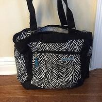Jansport Tote Bag in Zebra Print Photo