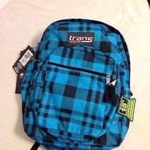 Jansport Trans Book Bag Backpack Laptop Sleeve 15