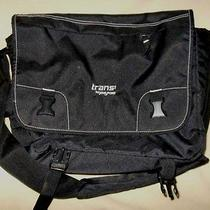 Jansport Trans Computer Bag Black Great Condition Photo