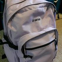 Jansport Trans Lavender Backpack School Book Bag  Photo
