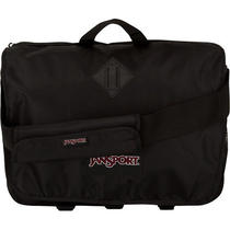 Jansport Turnpike Black Laptop Messenger Bag Bnwt Photo