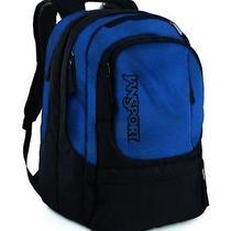 Jansport Txc07ts Air Cure Backpack (Black/blue Streak) Photo