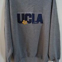 Jansport Ucla College Sweatshirt Womens Large Mom Logo Gray High Quality Photo