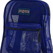 Jansport  Unisex Mesh Pack Students Backpack Regal Blue New Photo
