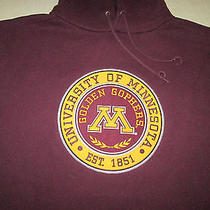 Jansport University of Minnesota Golden Gophers Mens College Hoodie Sweatshirt Photo