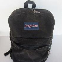 Jansport Vintage Corduroy Backpack Rare Photo