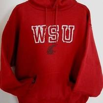 Jansport Washington State Cougars Sweatshirt Mens Large Wsu College Hooded Photo
