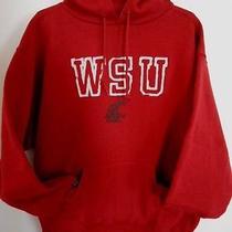 Jansport Washington State Cougars Sweatshirt Mens Large Wsu College Hooded Photo