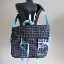 Jansport Women's Philly Messenger Bag - Black Caronic Punky Houndstooth - Nwt Photo