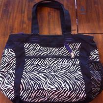 Jansport Zebra Print Messenger Bag/book Bag Photo