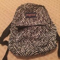 Jansport Zebra Stripe Book Bag Photo