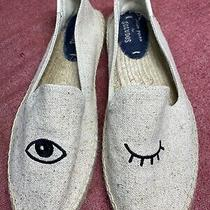 Jason Polan for Soludos Wink Espadrilles Shoes Sz 9 1/2 Photo