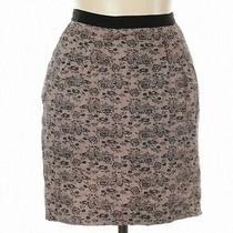 Jason Wu for Target Pencil Skirt Blush Pink Lace Printed Cotton Skirt 16 Nwot Photo