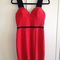 Jay Godfrey Red Dress (Size 4) Photo