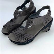 Jbu by Jambu Woman's Blue Chloe Wedge Sandals 9m  Photo