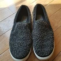 Jc Play Jeffrey Campbell Slip on Sneakers Shoes Size 9 Black Fleece Photo