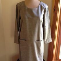 Jcrew 198 Jules Dress 6 Heather Aluminum Nwot Photo