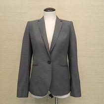 Jcrew 248 Campbell Blazer in Super 120s Wool 0p Heather Flannel C2170 Petite Photo